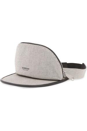 Burberry Zip pocket-detail visor hat