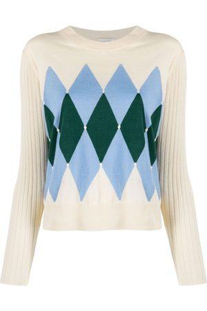 BALLANTYNE Argyle-knit jumper