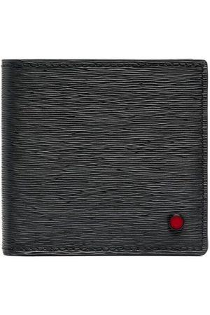 Kiton Logo-plaque leather wallet