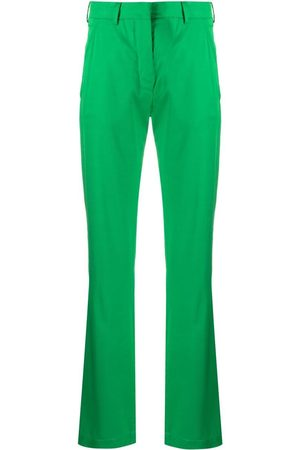LANEUS High-rise flared trousers