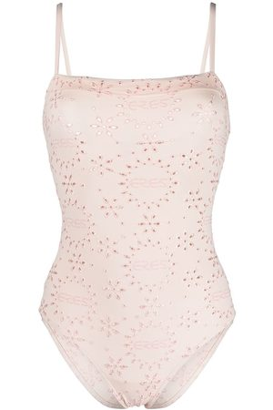 ERES Broderie anglaise swimsuit
