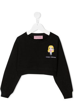 Chiara Ferragni Embroidered-logo sweatshirt