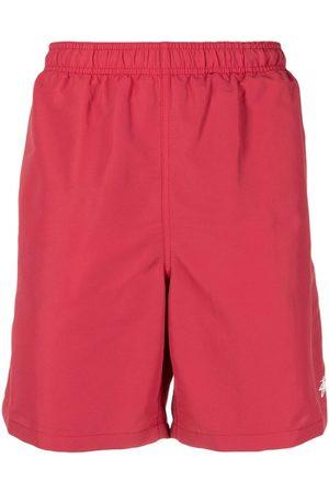 STUSSY Logo-print swim shorts