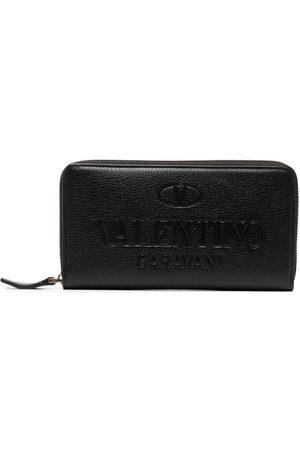 VALENTINO GARAVANI Logo-debossed wallet