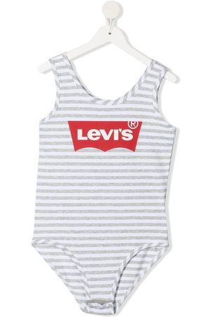 Levi's Girls Tunics - TEEN logo-print bodysuit