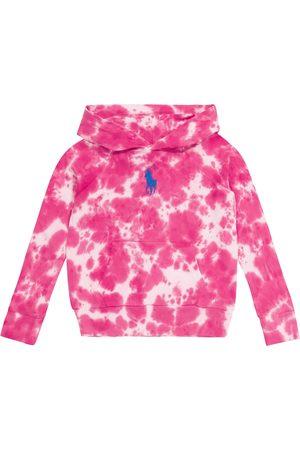 Ralph Lauren Girls Sweatshirts - Tie-dye cotton jersey hoodie