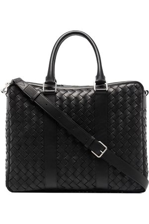 Bottega Veneta Intrecciato-finish briefcase