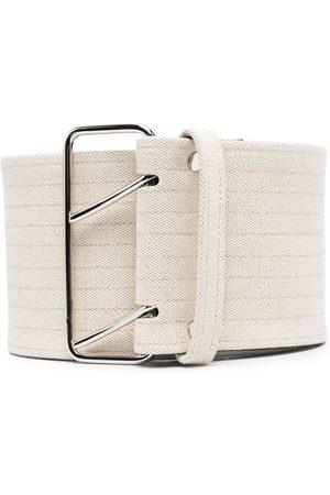 Jil Sander Stripe detail belt