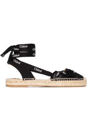 Chloé Lauren lace-up espadrilles