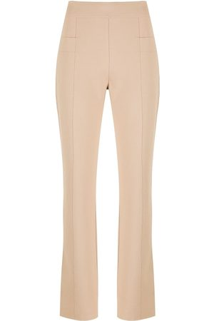 Alcaçuz Simone straight trousers