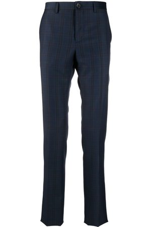 Paul Smith Check-print tailored trousers