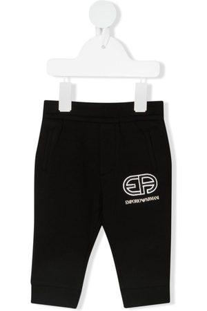 Emporio Armani Logo-print track pants