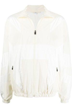 McQ Tonal-panelled bomber jacket