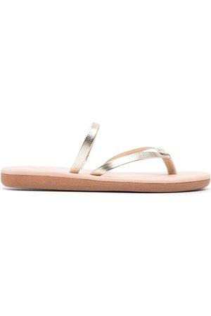 Ancient Greek Sandals Vachetta leather flip flops
