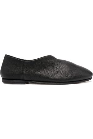 Officine creative Grained leather slippers