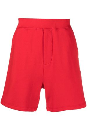 Dsquared2 Icon cotton track shorts