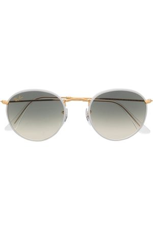 Ray-Ban Gradient-effect round-frame sunglasses