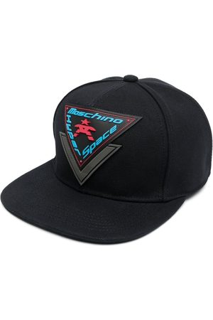 Moschino Hyper Space logo patch cap