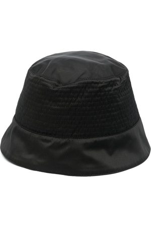 Rick Owens Logo-patch bucket hat