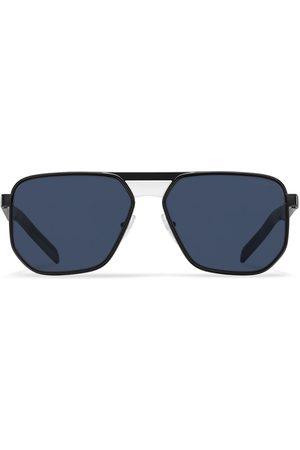 Prada Men Sunglasses - Aviator-frame tinted sunglasses