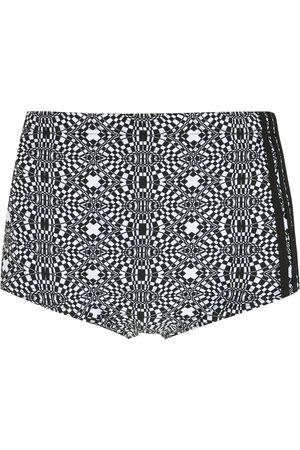 AMIR SLAMA Men Swimming Briefs - Striped geometric print swimming trunks