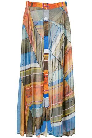 AMIR SLAMA Women Maxi Skirts - Silk long skirt