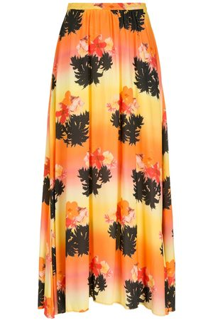 AMIR SLAMA Women Printed Skirts - Printed long skirt