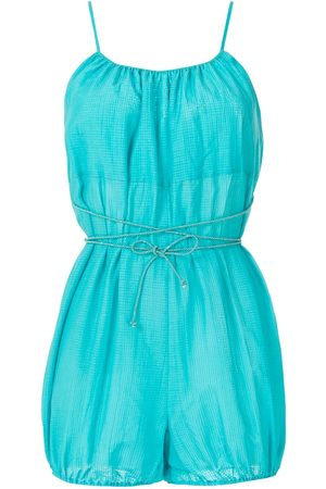 CLUBE BOSSA Women Playsuits - Calico tied playsuit