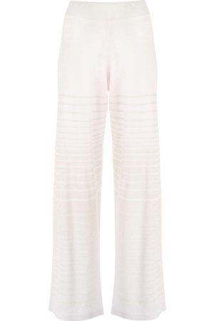 Canessa Wide-leg knitted trousers