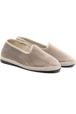 DOUUOD KIDS Contrasting trim slippers
