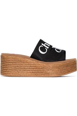 Chloé Woody 70mm wedge sandals