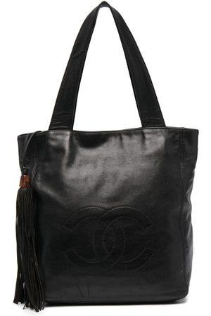 CHANEL Tassel detail CC tote bag