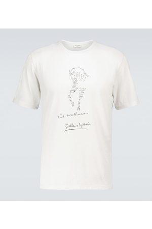 Saint Laurent Printed short-sleeved T-shirt