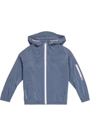 Emporio Armani Hooded technical jacket