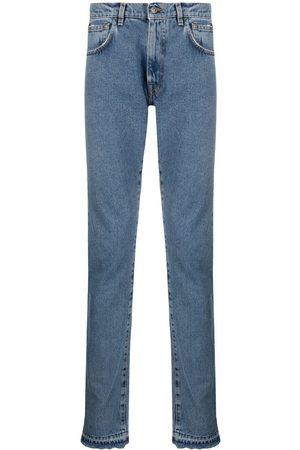 424 FAIRFAX Mid-rise straight-leg jeans