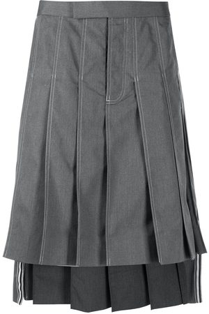 Thom Browne Knee-length pleated skirt