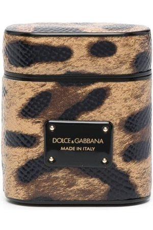 Dolce & Gabbana Leopard-print airpod case
