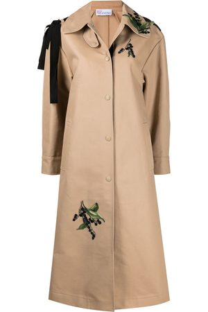RED Valentino May Lily embroidered trench coat