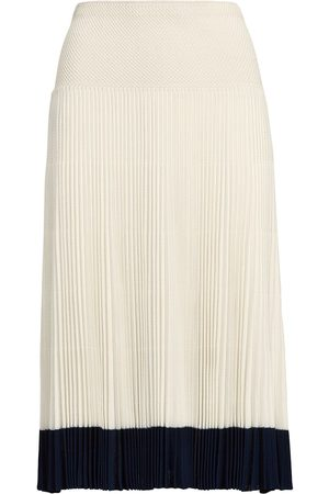 Ralph Lauren Stripe-detail pleated skirt