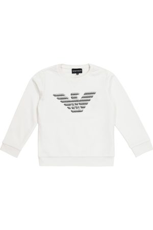 Emporio Armani Logo cotton-blend sweatshirt