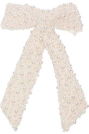 Jennifer Behr Bailey pearl bow hair clip