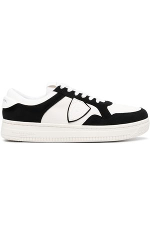 Philippe model Two-tone panelled trainers
