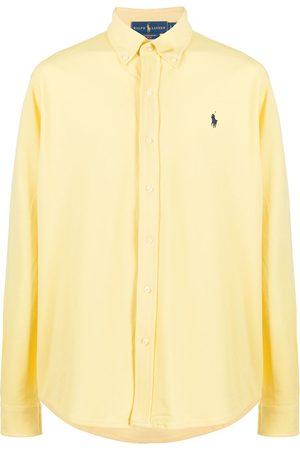 Polo Ralph Lauren Men Shirts - Logo-embroidered button-down shirt