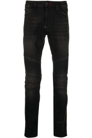 Philipp Plein Biker Institutional slim-fit jeans