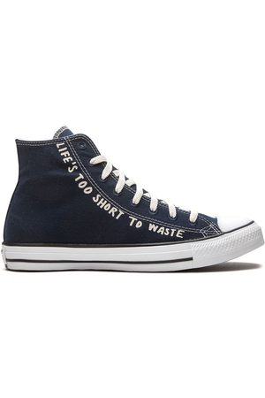 Converse All Star High 'Life's Too Short To Waste' sneakers