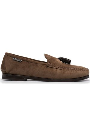 Tom Ford Tassel-detail suede loafers