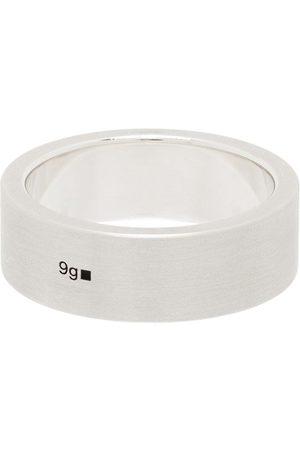 Le Gramme Men Rings - La 9g brushed ribbon ring