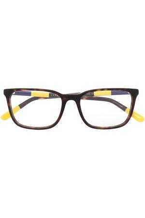 Polo Ralph Lauren Havana-print glasses