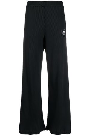 Opening Ceremony Women Wide Leg Pants - Knitted flared trousers