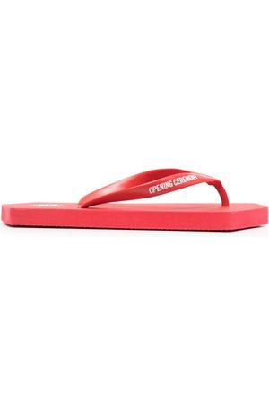 Opening Ceremony Women Flip Flops - Geometric-sole logo flip flops